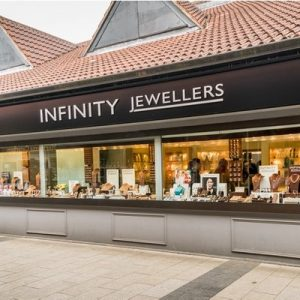 Infinity Jewellers Shop Front